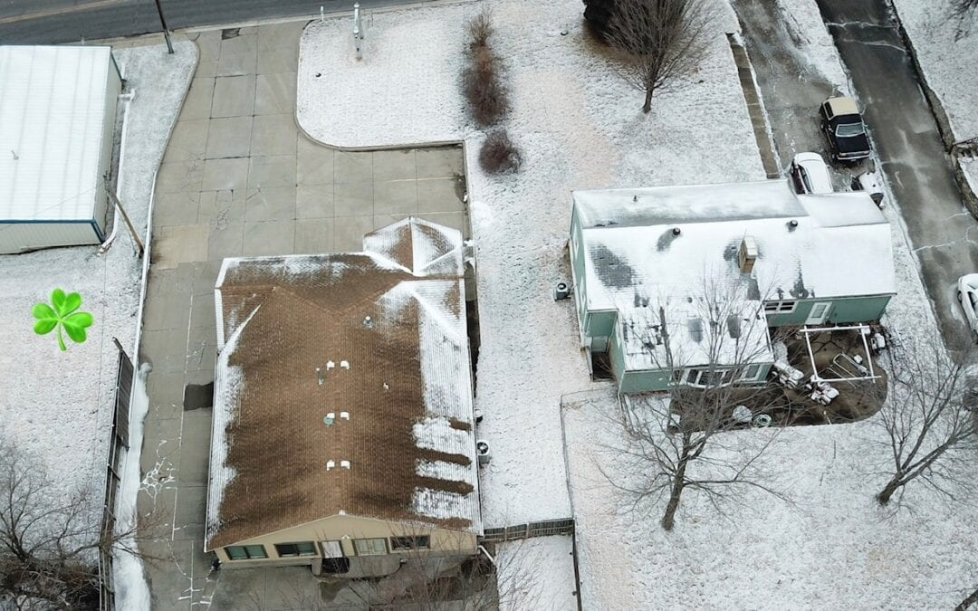 Why Does Your Neighbor Have More Snow Left on Their Roof?